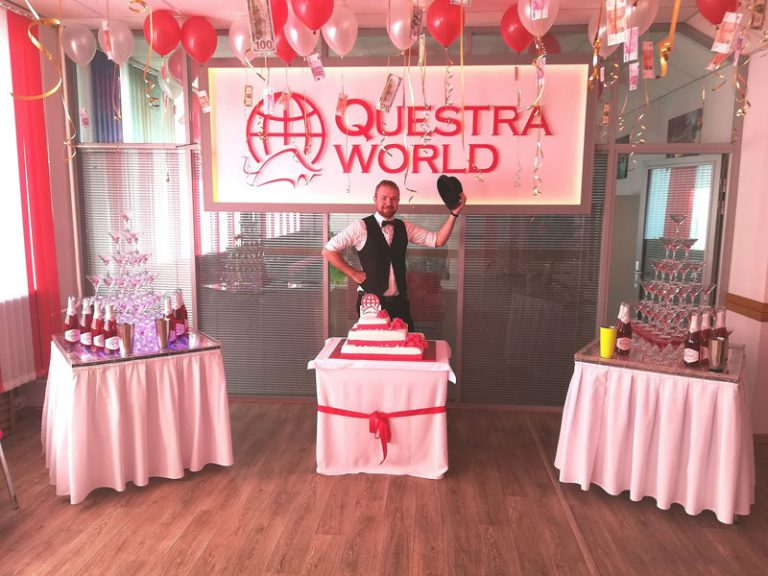 "Презентация открытия ""Questra world"""