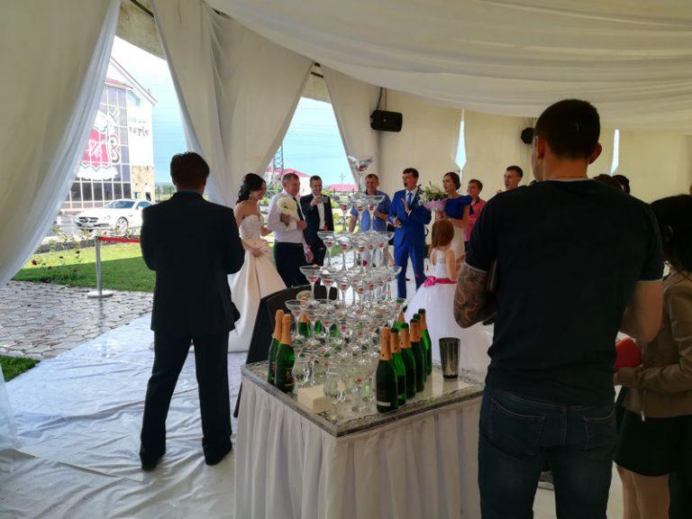 """Шикарная свадьба """"Империя"""""""